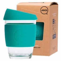 Reusable Glass Cup Regular 12oz - Mint
