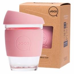 Reusable Glass Cup Regular 12oz - Strawberry
