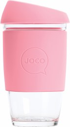 Reusable Glass Cup Extra Small 6oz - Strawberry
