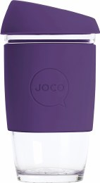 Reusable Glass Cup Extra Small 6oz - Violet