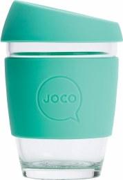 Reusable Glass Cup Regular 12oz - Vintage Green
