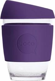 Reusable Glass Cup Regular 12oz - Violet
