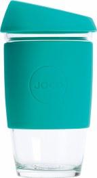 Reusable Glass Cup Large 16oz - Mint