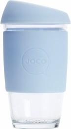 Reusable Glass Cup Large 16oz - Vintage Blue