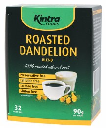 Roasted Dandelion Blend Tea Bags 32 Tea Bags 90gm
