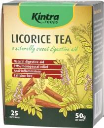 Licorice 25 Tea Bags 50gm