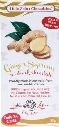 Dark Chocolate Ginger Supreme 85gm