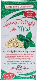 Hemp Delight Dark Chocolate Mint 85gm