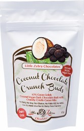 Dark Chocolate Crunch Buds Coconut 85gm