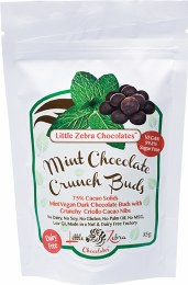 Dark Chocolate Crunch Buds Mint 85gm