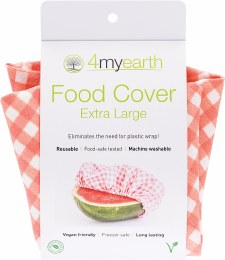 Food Cover Red Gingham - XL