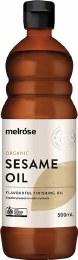 Sesame Oil Organic 500ml