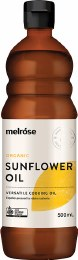Sunflower Oil Organic 500ml