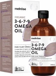 3-6-7-9 Omega Oil Certified Organic
