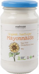 Sunflower Mayonnaise Organic 365gm