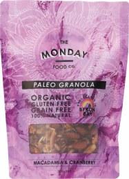 Paleo Granola Macadamia & Cranberry 300gm