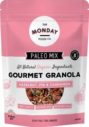 Paleo Granola Hazelnut, Fig & Cardamom 800gm