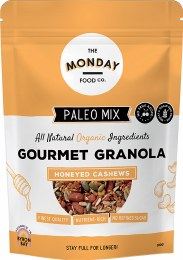 Paleo Granola Honeyed Cashews 300gm