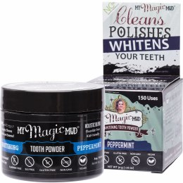 Whitening Tooth Powder With Charcoal - Peppermint