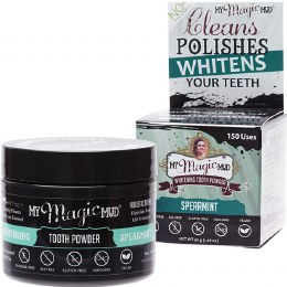 Whitening Tooth Powder With Charcoal - Spearmint