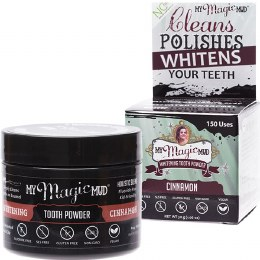 Whitening Tooth Powder With Charcoal - Cinnamon