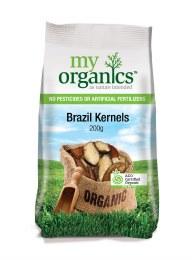 Organic Brazil Nuts 200gm