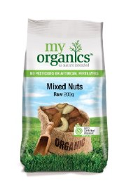 Organic Raw Mixed Nuts 200gm