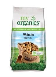 Organic Raw Walnuts 150gm