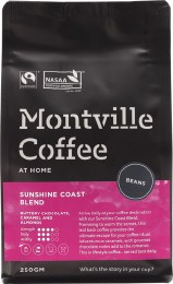 Coffee Whole Beans Sunshine Coast Blend 250gm