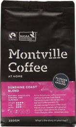 Coffee Ground (Plunger) Sunshine Coast Blend 250gm