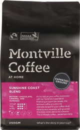 Coffee Ground (Espresso) Sunshine Coast Blend 250gm