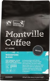Coffee Whole Beans Woodford Blend 250gm