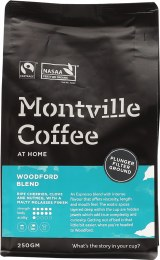 Coffee Ground (Plunger) Woodford Blend 250gm