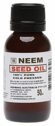Neem Seed Oil 100% Pure & Cold Pressed 50ml