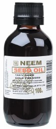 Neem Seed Oil 100% Pure & Cold Pressed 100ml