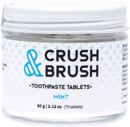 Crush & Brush Toothpaste Tablets Mint 60gm