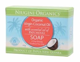 Soap Coconut Oil - Patchouli 100gm