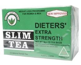 Herbal Tea Bags Slim Tea - Extra Strength 15 Bags