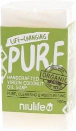 Coconut Oil Soap Pure - Unscented 100gm