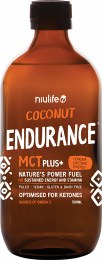 Coconut MCT Plus+ Endurance 500ml