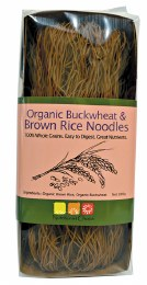 Rice Noodles Buckwheat & Brown 200gm