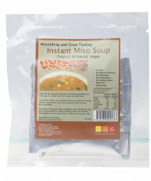 Instant Miso Soup Pack of 4 Sachets 4x20gm