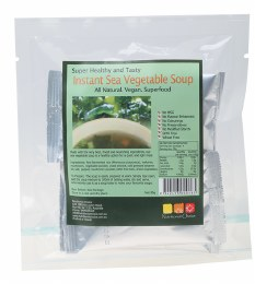 Instant Sea Vegetable Soup Pack of 4 Sachets 4x20gm