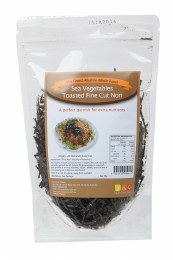 Sea Vegetables Toasted Fine Cut Nori 25gm