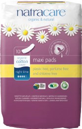 Maxi Pads Night Time 10