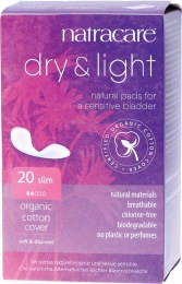 Incontinence Pads Dry & Light Slim 20