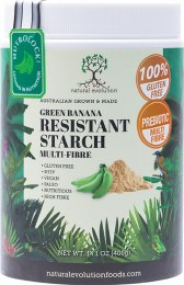 Green Banana Resistant Starch From Green Lady Finger Bananas 500gm