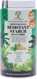 Green Banana Resistant Starch From Green Lady Finger Bananas 800gm