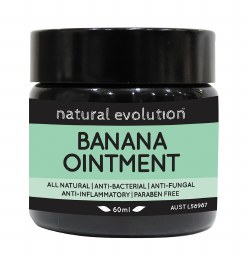 Banana Ointment All Natural Healing Ointment 60ml