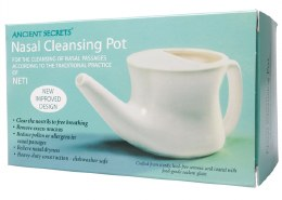 Nasal Cleansing Pot Neti Pot - Ceramic